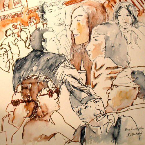 34-personnages-au-cafe-nice-au-cafe-cours-saleya-dessin-aquarelle-caricature-sylvie-bertrand-peintre-vieux-nice-atelier-galerie-peinture-gallery-painting-painter