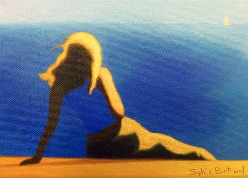 reverie-devant-la-mer-inspiré-de-la-promenade-des-anglais-nice-sylvie-bertrand-peintre-nice-image-photo-peinture-tableau-artiste-peintre-vieux-nice-art-galerie-gallery
