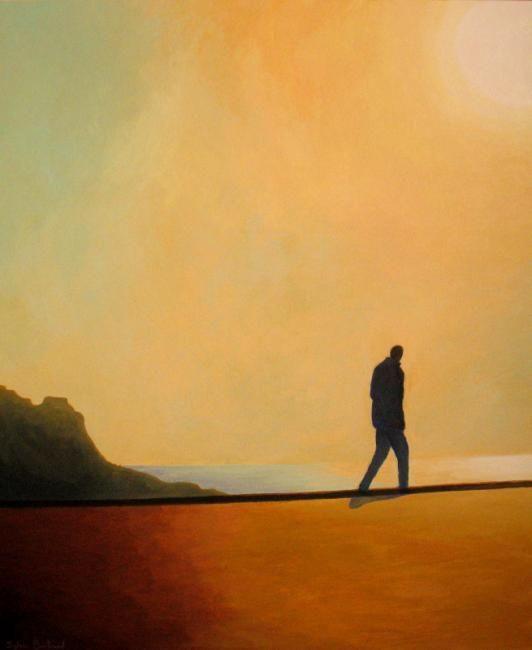sous-le-soleil-inspire-du-quai-rauba-capeu-silhouette-ombre-et-lumiere-promeneur-solitaire-atelier-sylvie-bertrand-peinture-artiste-peintre-tableau-image-photo-painting-painter-picture-galerie-vieux-nice-gallery-art-
