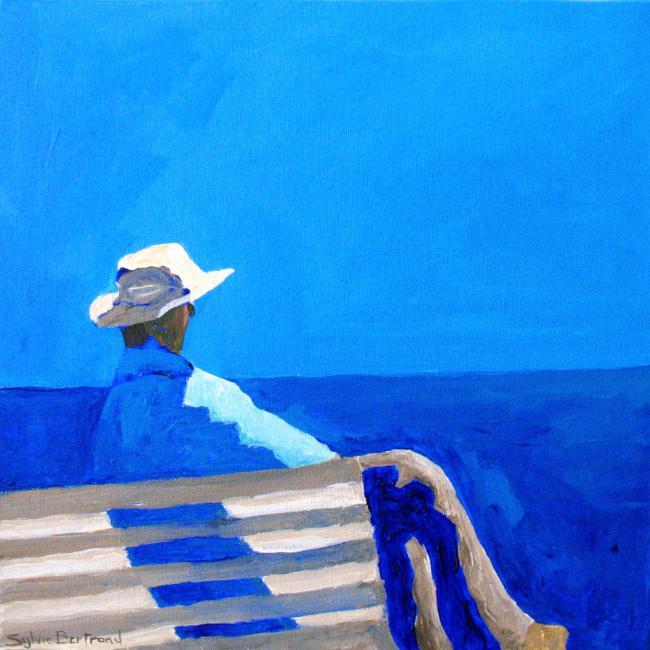 Sylvie bertrand artiste peintre devant la mer for Artiste peintre anglais