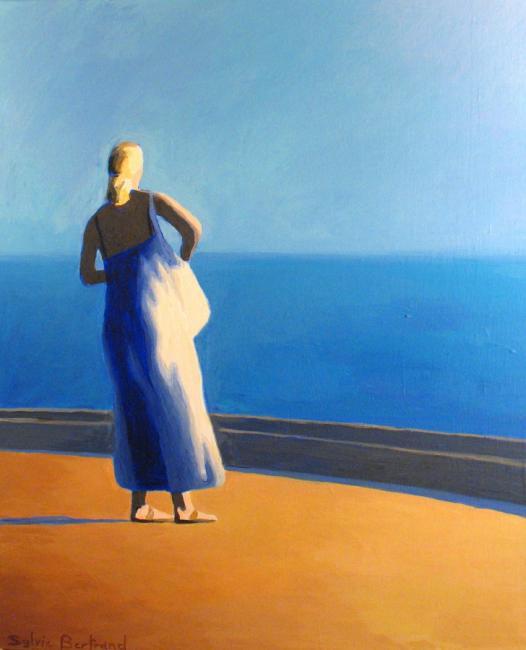 2-devant-la-mer-silhouette-de-femme-quai-rauba-capeu-nice-sylvie-bertrand-peintre-peintures-tableau