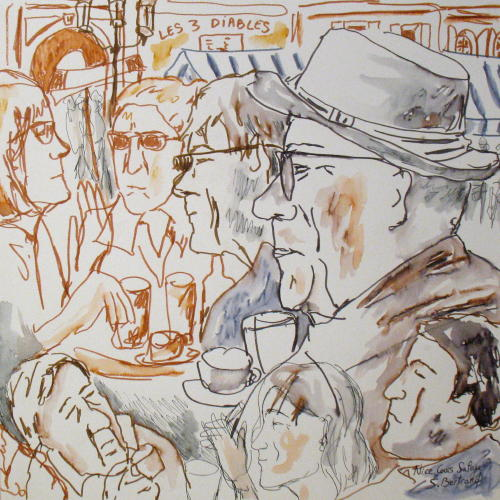 11-nice-au-cafe-cours-saleya-dessin-aquarelle-caricature-sylvie-bertrand-peintre-vieux-nice-atelier-galerie-peinture-gallery-painting-painter
