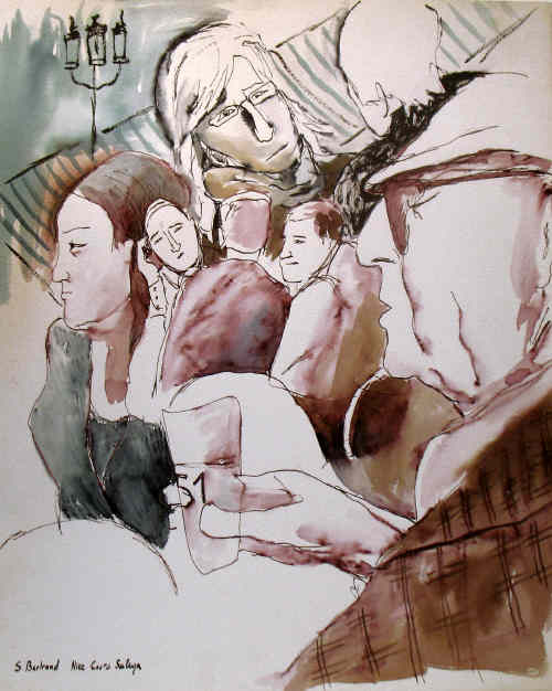 20-nice-au-cafe-cours-saleya-dessin-aquarelle-caricature-sylvie-bertrand-peintre-vieux-nice-atelier-galerie-peinture-gallery-painting-painter
