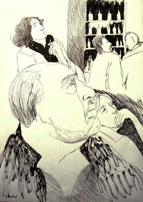 25-nice-jazz-au-cafe-cave-romagnan-dessin-aquarelle-caricature-sylvie-bertrand-peintre-vieux-nice-atelier-galerie-peinture-gallery-painting-painter