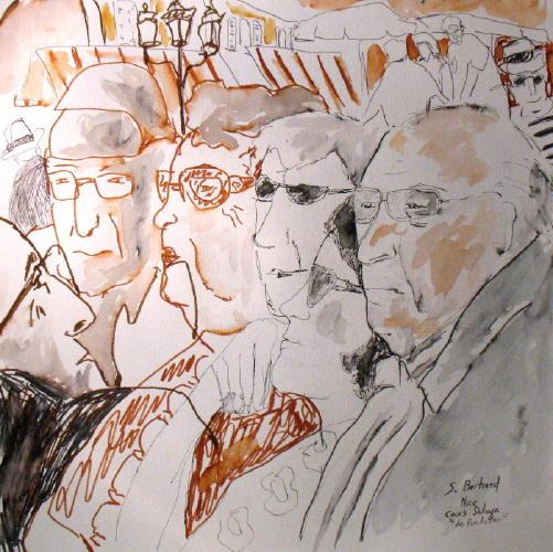 4-nice-au-cafe-cours-saleya-dessin-aquarelle-caricature-sylvie-bertrand-peintre-vieux-nice-atelier-galerie-peinture-gallery-painting-painter