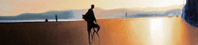 cycliste-quai-rauba-capeu--inspire-de-nice-peinture-a-l-huile-ombre-et-lumiere-atelier-sylvie-bertrand-peinture-artiste-peintre-tableau-image-photo-painting-painter-picture-galerie-vieux-nice-gallery-art