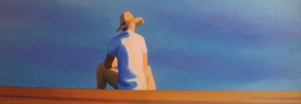 silhouette-devant-la-mer-homme-au-chapeau-inspire-de-la-promenade-des-anglais-sylvie-bertrand-peintre-nice--image-photo-peinture-tableau-artiste-peintre-vieux-nice-art-galerie-gallery