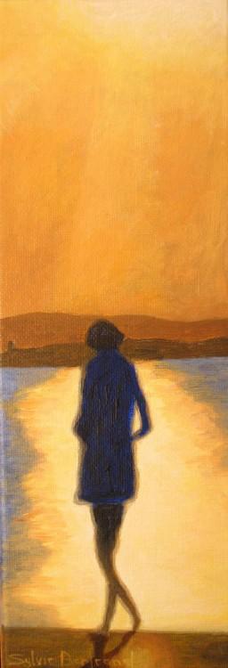 soleil-couchant-et-silhouette-promenade-des-anglais-sylvie-bertrand-peintre-painter-atelier-nice-peinture-painting-galerie-gallery-art