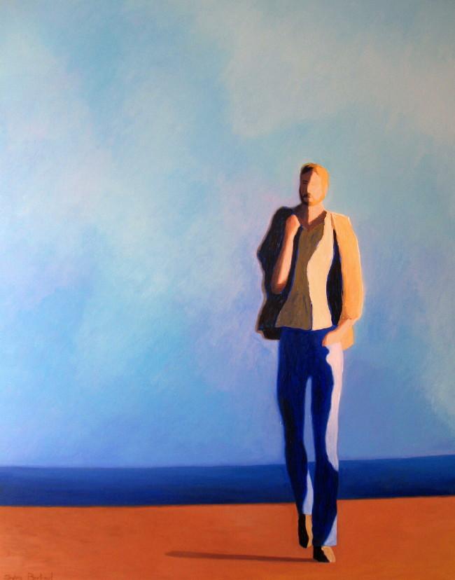 sur-la-route-inspire-du-quai-rauba-capeu-nice-sylvie-bertrand-artiste-peintre-vieux-nice-silhouette-promeneur-solitaire-peinture-tableau--art-galerie-gallery-8