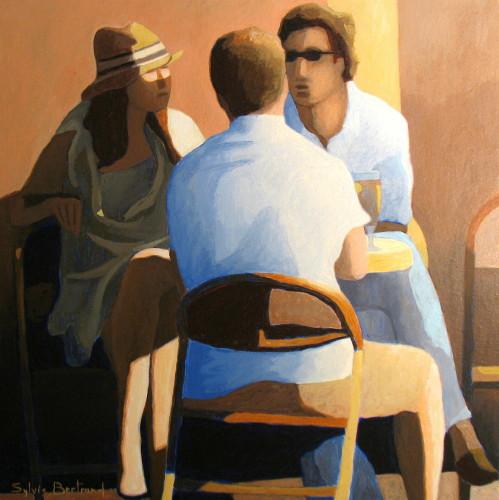 trois-amis-au-cafe-inspire-du-vieux-nice-sylvie-bertrand-bar-bistrot-dans-la-rue-silhouette-lumiere-peinture-artiste-peintre-tableau-art-galerie-gallery